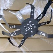 Spider Word Families LL6:4.3 Orally blends onset and rime in single syllable spoken words.