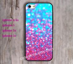 Sparkle&Glitter iphone 5 case iphone 5/5s iPhone 4 by charmcover, $7.99