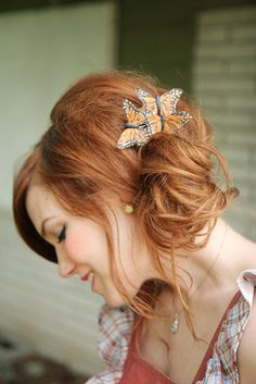 Pretty hairstyle and colour