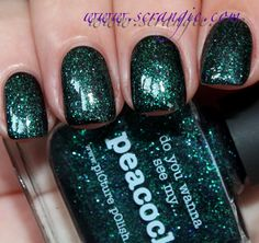 Scrangie: Picture Polish Opulence Collection 2012 - Mask-a-rade, Monroe and Peacock