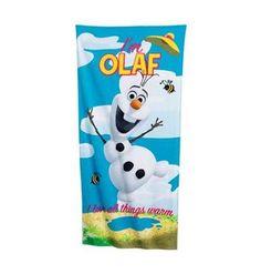 Disney Frozen OLAF Beach Towel Personalized