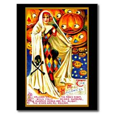 Postcard-Holiday Art-Vintage Halloween 44