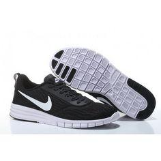 ee6b32344288 Women Nike SB Paul Rodriguez 9 Black White Shoes Cheap Nike Running Shoes