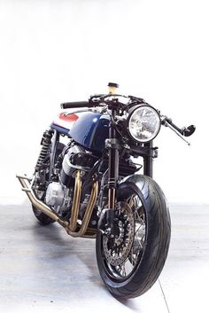 Cafe Racer Pasión — Honda CB750 Cafe Racer SuperSport 1975 by...
