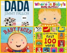 Great Baby Books for Speech and Language Development #books #baby #speechandlanguage #development #parenting