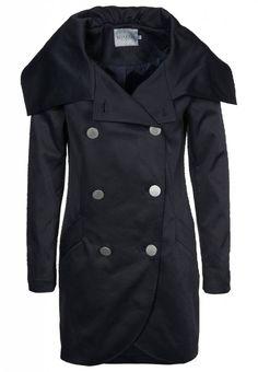 Soaked in Luxury Trenchcoat zwart