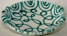 Gmundner Keramik Schüssel, grüngeflammt, neu