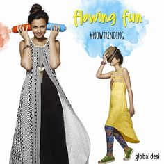 Flowy dresses #Trend #ColourMeHappy