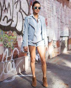Jaqueta _street-style-look-azul-e-bota-caramelo