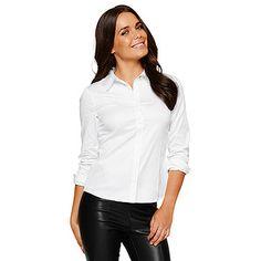 5c75cf69c80 Dannii Minogue Petites Tailored Shirt - White – Target Australia