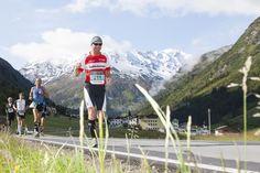 Der Gletschermarathon: Eine Marathonstrecke mit beeindruckender Bergkulisse vom Pitztaler Gletscher bis nach Imst #DachTirols #Marathon