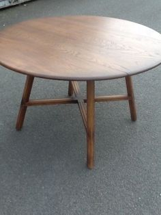 Ercol Old Colonial Drop Leaf Dining Table Golden Dawn Finish