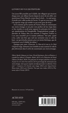 Actes Noirs - 2016-03 - Olivier Barde-Cabuçon - Entretien avec le Diable - Verso