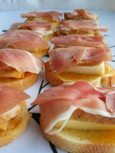 A wonderful appetizer to prepare when you are in a hurry - use a rotisserie chicken from the deli. A Giada De Laurentiis recipe from Everyday Italian. These are so good And come together very easily! I prefer using white meat chicken but any that you like is fine. :) Apricot