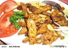 Dokonalý Gyros recept - TopRecepty.cz Tzatziki, Chicken Wings, Pizza, Meat, Cookie, Biscuit, Pretzel Bark, Cookie Recipes, Cookies
