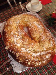 Feliz día de Reyes! Roscón casero de los buenos de verdad!
