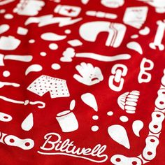 Biltwell Mandana - Camp Red / White | Motorcycle Scarves | FREE UK delivery - The Cafe Racer