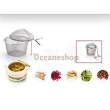 Aço inoxidável coador de chá infusor de chá bola chá de malha de diâmetro de 4.5 cm de ferramentas(China (Mainland))