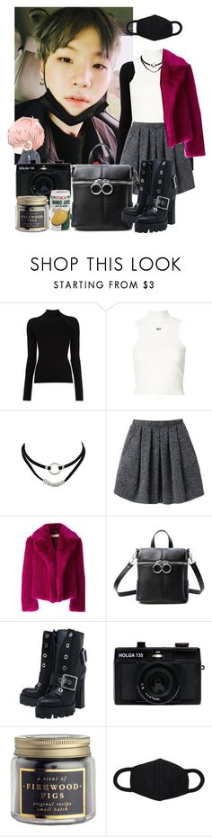"""""""Untitled #514"""" by danielagreg on Polyvore featuring Off-White, Wood Wood, Dries Van Noten, Current Mood, Alexander McQueen and Holga"""