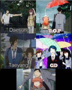 Image de daesung, kpop, and taeyang Daesung, Vip Bigbang, Big Bang Memes, Big Bang Kpop, K Pop, Bigbang G Dragon, Gekkan Shoujo, Culture Pop, Gu Family Books