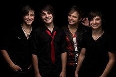 Everfound, from left to right: Illarion, Nikita, Ruslan and Yan <3