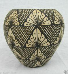 Anita Armijo Jemez Pueblo New Mexico RARE Native American Pottery Vase EC | eBay