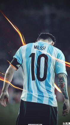 Vamos #ARG #MESSI100   HQ- http://www.barcaart.com/#!lionel-messi/ct7w …