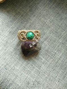 Macrame Tutorial 圆珠编绳戒指