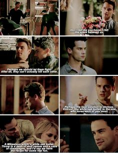 "#TheOriginals 3x16 ""Alone With Everybody"" - Freya and Lucian"
