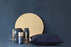 Der Herbst ist da! – Setzt neue Akzente in eurer Wohnung – Trend II: Wir machen Blau!  Produkte von House Doctor, H&M Home, Madam Stoltz und Broste Copenhagen
