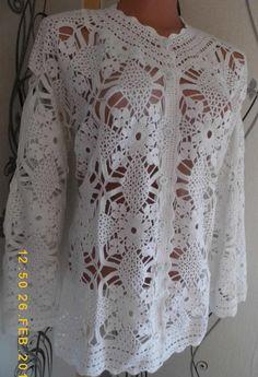 Crochet Tunic, Crochet Clothes, Knit Crochet, Acer, Crotchet, Mantel, Cute Outfits, Stitch, Knitting