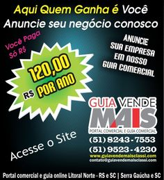 R$ Só 120,00 Reais Por Ano Guia Online
