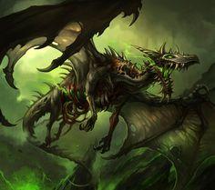 Undead Zombie Dragon
