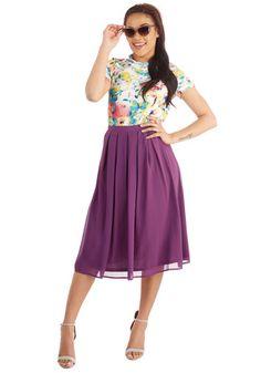 Glance My Way Skirt | Mod Retro Vintage Skirts | ModCloth.com