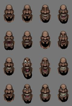 Loadout Character Work on Behance