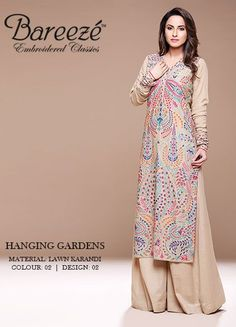Beautiful Young Girls Colorful New Spring Wear Collection 2014 Pakistani Casual Wear, Pakistani Outfits, Indian Outfits, Ethnic Fashion, Hijab Fashion, Indian Fashion, Fashion Outfits, Simple Dresses, Beautiful Dresses
