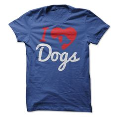 I Love Dogs T shirt - Clothes, fashion for women, men and teens