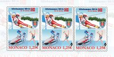 Winter Youth Olympic Games Lillehammer 2016, officially known as the II Winter Youth Olympic Games, are taking place in and around Lillehammer, Norway. Monaco stamps