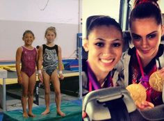 """""""Once upon a time two little best friends from California were dreaming about the Olympics, to get to go there together,"""" McKayla wrote. """"They trained together, both make the Olympic team to represent U.S.A. in gymnastics in July 1, 2012... And the rest is history."""""""