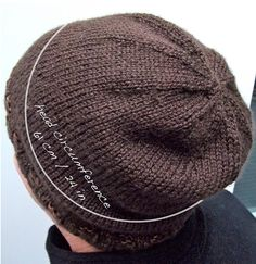 Hand Knit Just Right Big Head Hat – for Joseph. Hats For Big Heads bda324ab8d3d