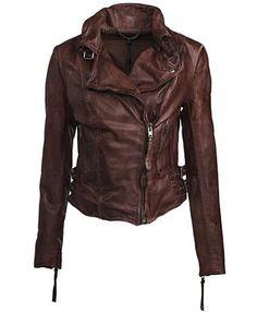 Muubaa Flax Biker Jacket   Want for fall