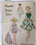 vintage bathing suits 1950 - Bing Images