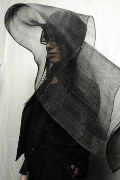 blackhallmanor:  Ann Demeulemeester Spring/Summer 2014, backstage