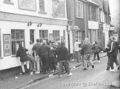 Retro Galleries – Old School Hooligan Pics Football Hooliganism, British Football, School Football, European Countries, Uni, Galleries, Old School, Boxes, Soccer