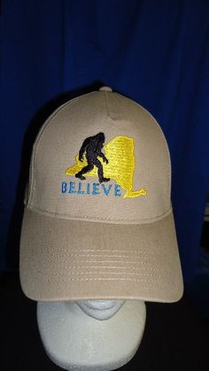 BIGFOOT SASQUATCH  Hat and Shirt COMBO  - Choose YOUR STATE -        by jeeplady2012   $29.99