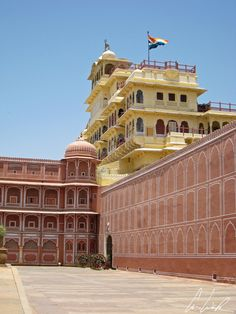Inde, Jaipur - Le City Palace (ou Chandra Mahal)