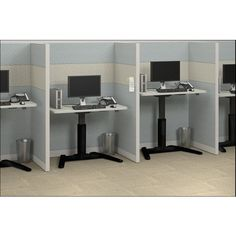 Mayline Varitask LT - Electric sit to stand height adjustable table.  FREE shipping in Canada at Ugoburo.ca