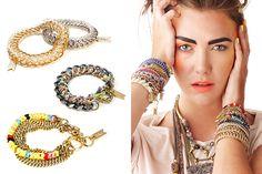Biko metal-meets-beads jewelry