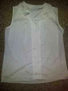 Swapped. NY&Co semi-sheer off-white top, size medium. Washed, never worn. $5 + shipping