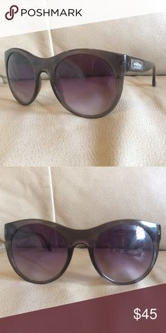 Dark purple Michael Kors designer sunglasses Great condition barely worn! Michael Kors Accessories Sunglasses